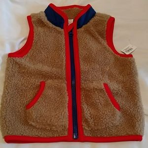 Old Navy Baby Sherpa Vest